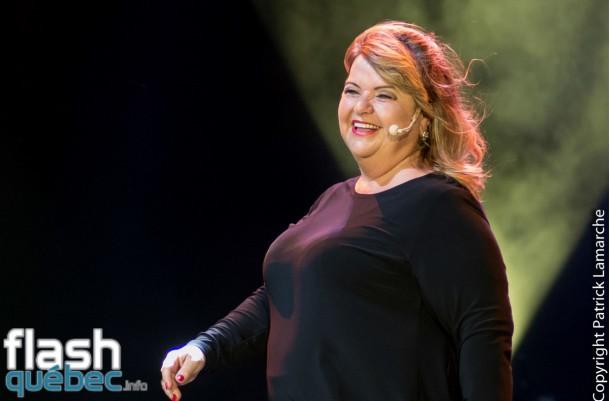 Lise Dion présente Le temps qui court au Festival Juste pour rire 2015
