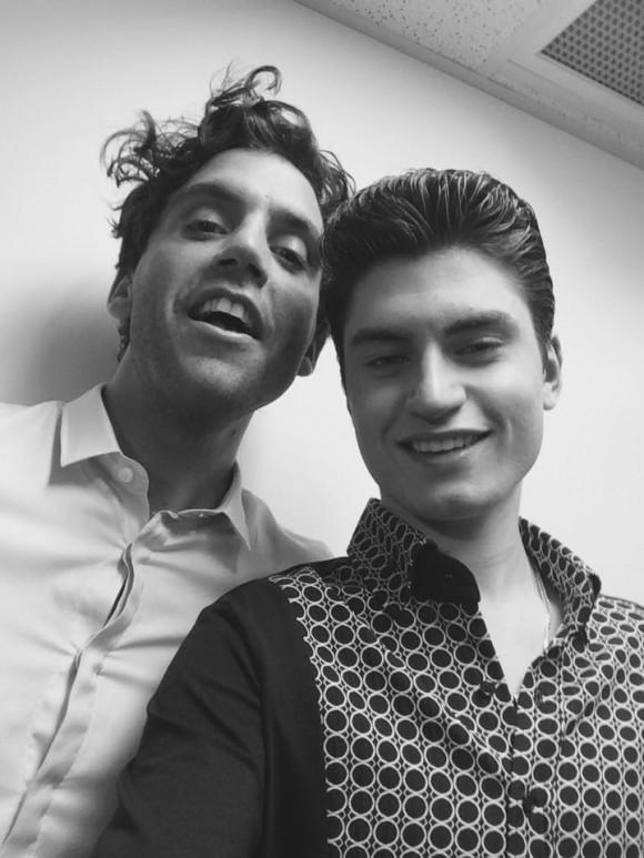 mika et david thibault de The VOice