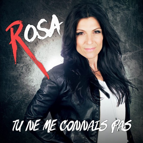 Rosa présente la chanson Tu ne me connais pas.