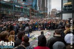 Rassemblement de 3500 personnes au Consulat de France à Montréal
