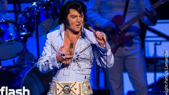 Martin Fontaine revient en force avec Elvis Experience au Théâtre St-Denis