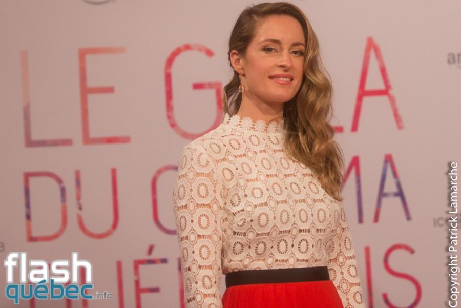 Gala du cinéma québécois 2016 – Le tapis rouge - Christine Beaulieu