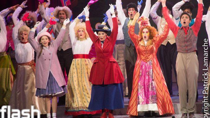 première mondiale de Mary Poppins en français, au Théâtre St-Denis à Montréal