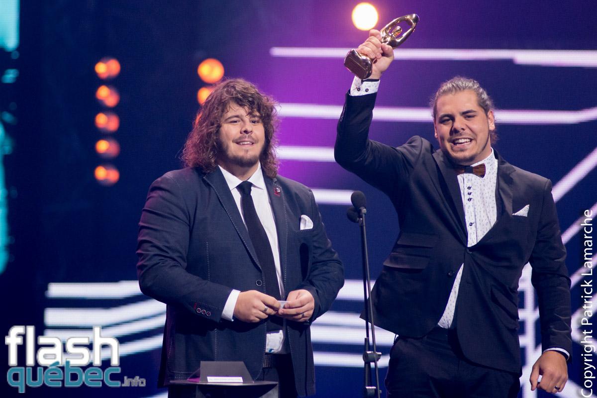 Les Deux frères ont raflé deux prix au gala Adisq 2016