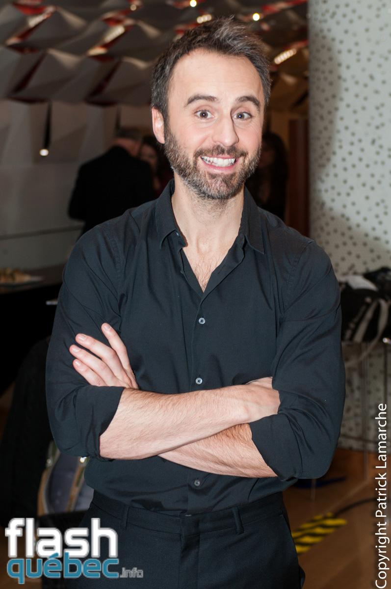 Louis-José Houde, j'ai eu le plaisir de m'entretenir avec lui après l'animation de son gala Adisq