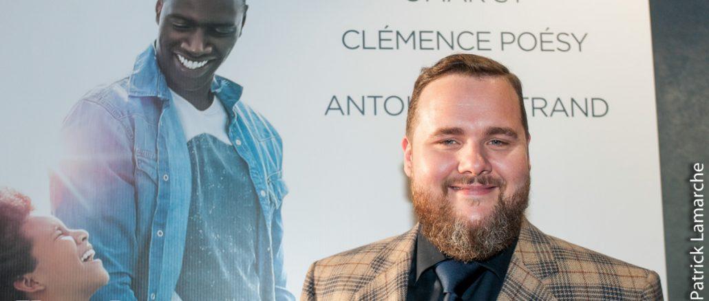 Première du film DEMAIN TOUT COMMENCE avec Antoine Bertrand