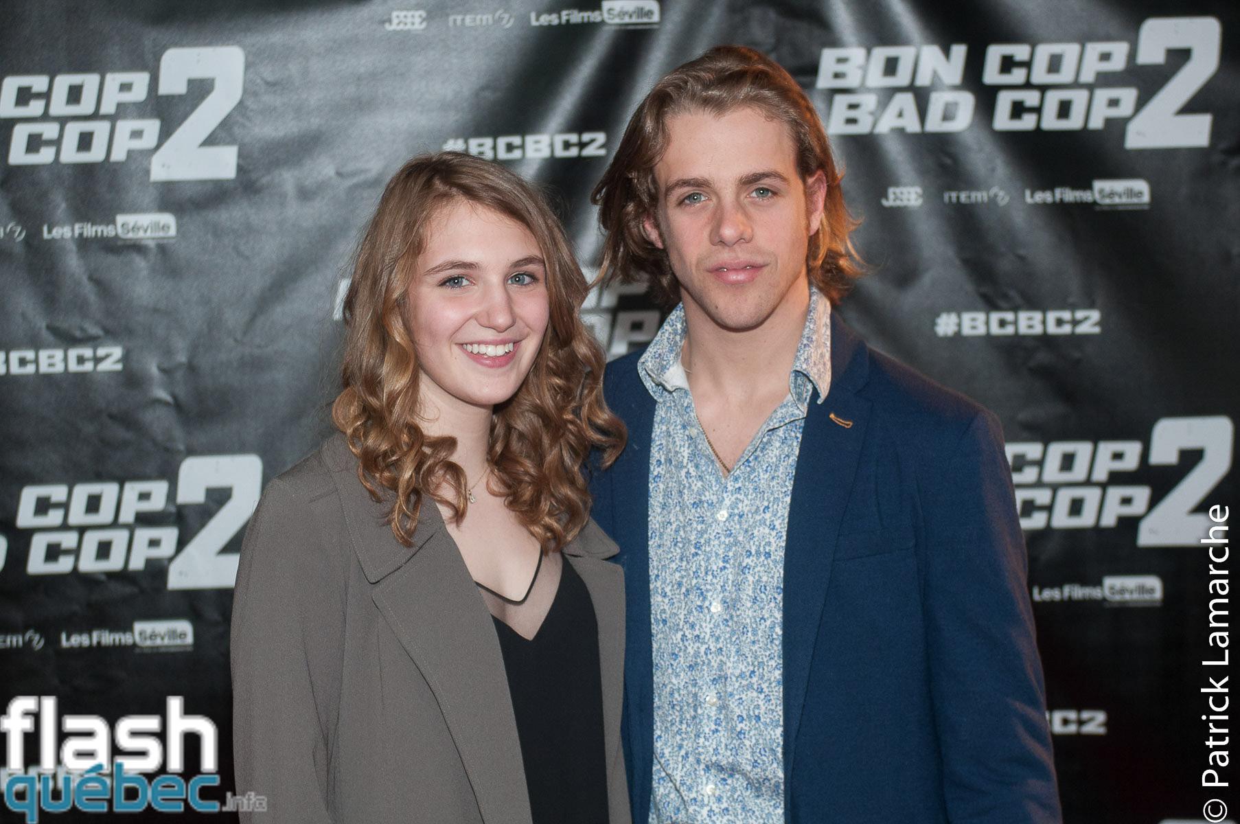 Sophie Nélisse et Maxime Gibeault